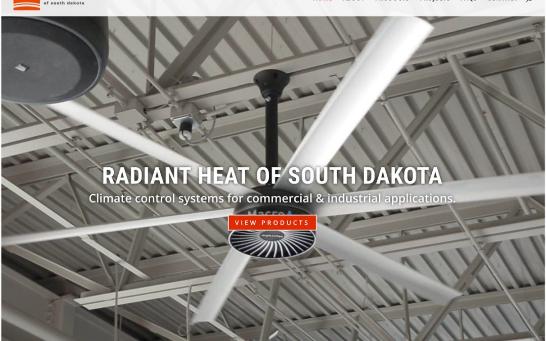 Radiant Heat of South Dakota Website